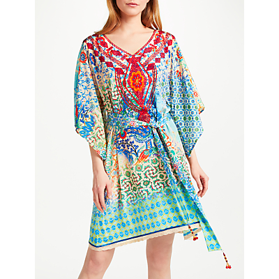Ruby Yaya Garden Sayonara Tunic Dress, Turquoise