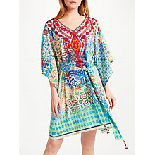 Buy Ruby Yaya Garden Sayonara Tunic Dress, Turquoise Online at johnlewis.com
