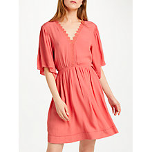 Buy SUNCOO Cara Dress, Orange Online at johnlewis.com