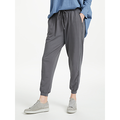 Thought Emerson Tie Waist Bamboo Joggers, Grey