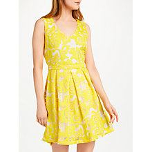 Buy SUNCOO Carlotta Cut-Out Back Dress, Yellow Online at johnlewis.com