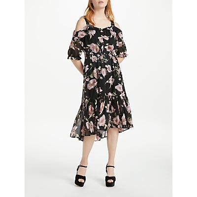 Y.A.S Off Shoulder Dress, Black