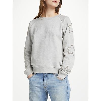 Uzma Bozai Reba Sweatshirt, Grey Marl