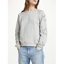 Buy Uzma Bozai Reba Sweatshirt, Grey Marl Online at johnlewis.com