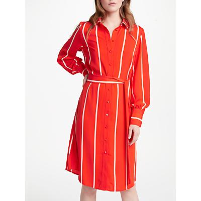 Y.A.S Lillo Shirt Dress, Orange