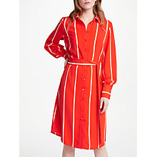 Buy Y.A.S Lillo Shirt Dress, Orange Online at johnlewis.com