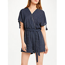 Buy SUNCOO Timothee Playsuit, Blue Online at johnlewis.com