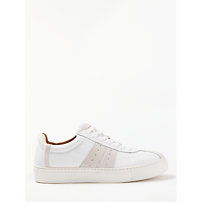 Selected Femme Dina Leather Trainers, White