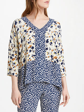 Buy Stella Forest Coquelicot Top, Blue, 10 Online at johnlewis.com