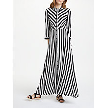 Buy Y.A.S Savanna Long Shirt Dress, Multi Online at johnlewis.com