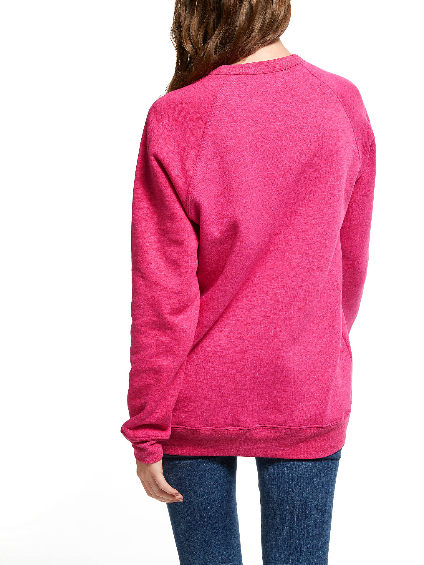 Buy Selfish Mother Winging It Crew Neck Sweatshirt, Pink, S Online at johnlewis.com