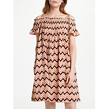 Buy Stella Forest Misni Short Dress, Red Online at johnlewis.com