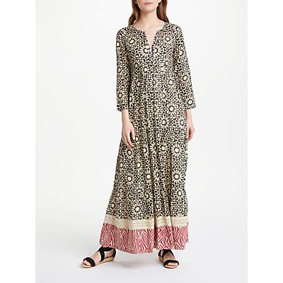Stella Forest Mosaique Long Dress, Black