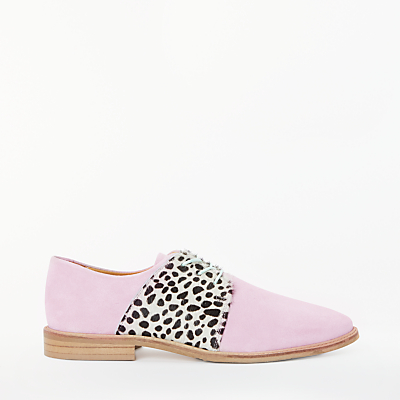 Rogue Matilda Bonbon Brogues, Light Pink