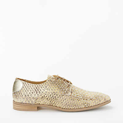 Rogue Matilda Lovers Gold Brogues, Sand Snake
