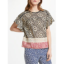 Buy Stella Forest Mosaique Top, Black Online at johnlewis.com