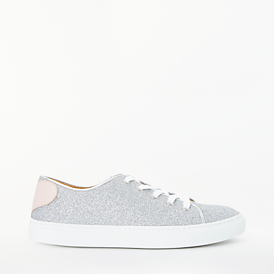 Rogue Matilda Sweetheart Trainers, Grey Glitter