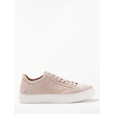 Selected Femme Donna Suede Trainers, Adobe Rose