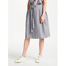 Buy Thought Jazemina Skirt, Pebble Grey Online at johnlewis.com