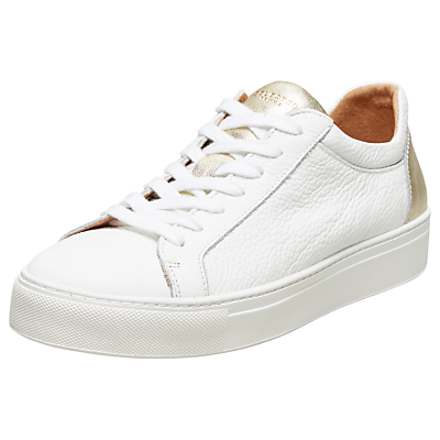 Selected Femme Donna Contrast Trainers, White