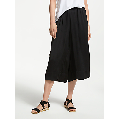 Second Female Cropped Trousers, Black