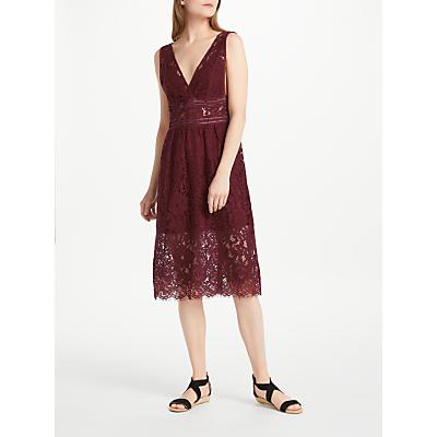 Y.A.S Bibba Dress, Burgundy