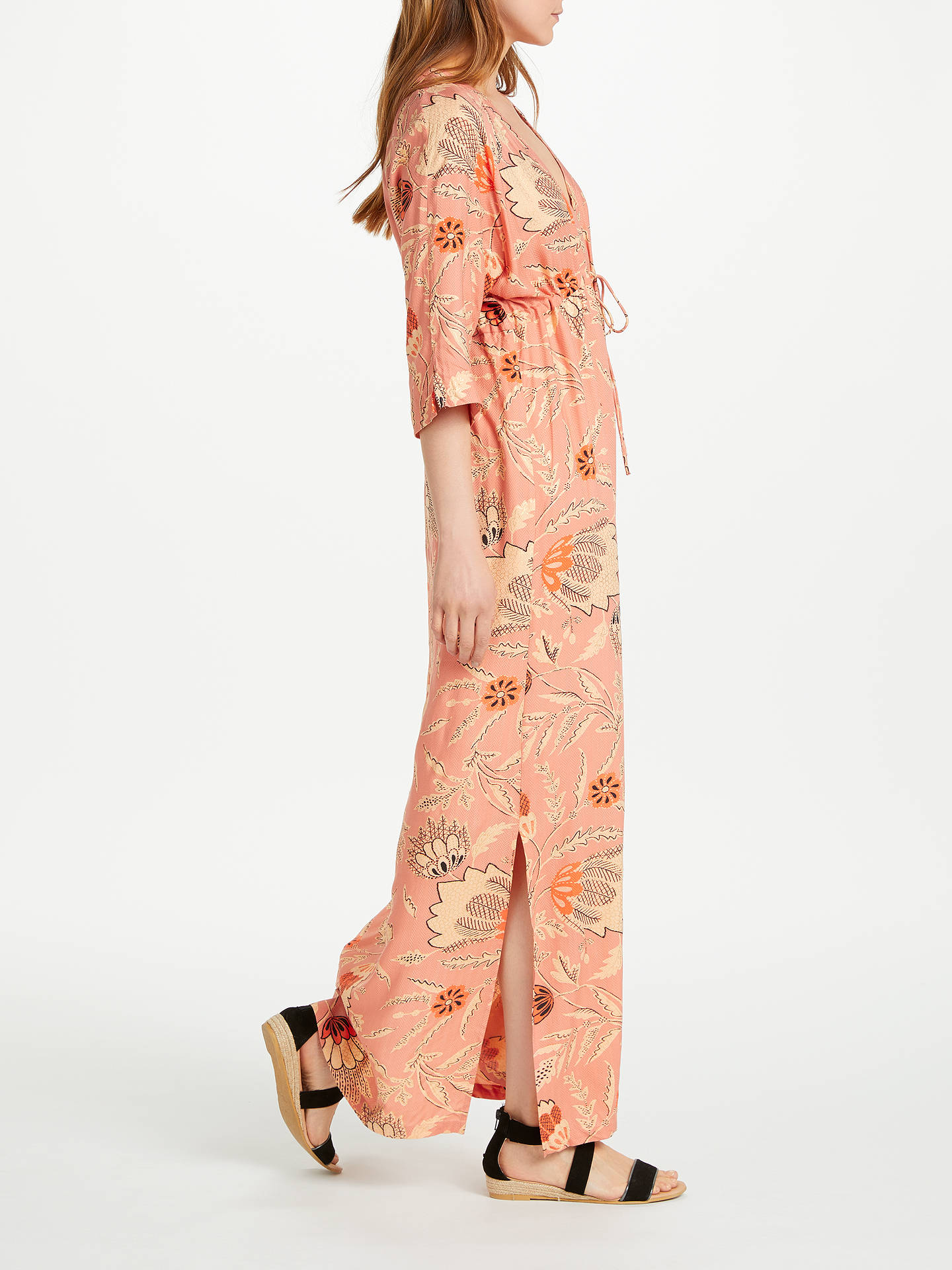 d1a454f2 ... Buy Second Female Fresco Dress, Pink, L Online at johnlewis.com ...
