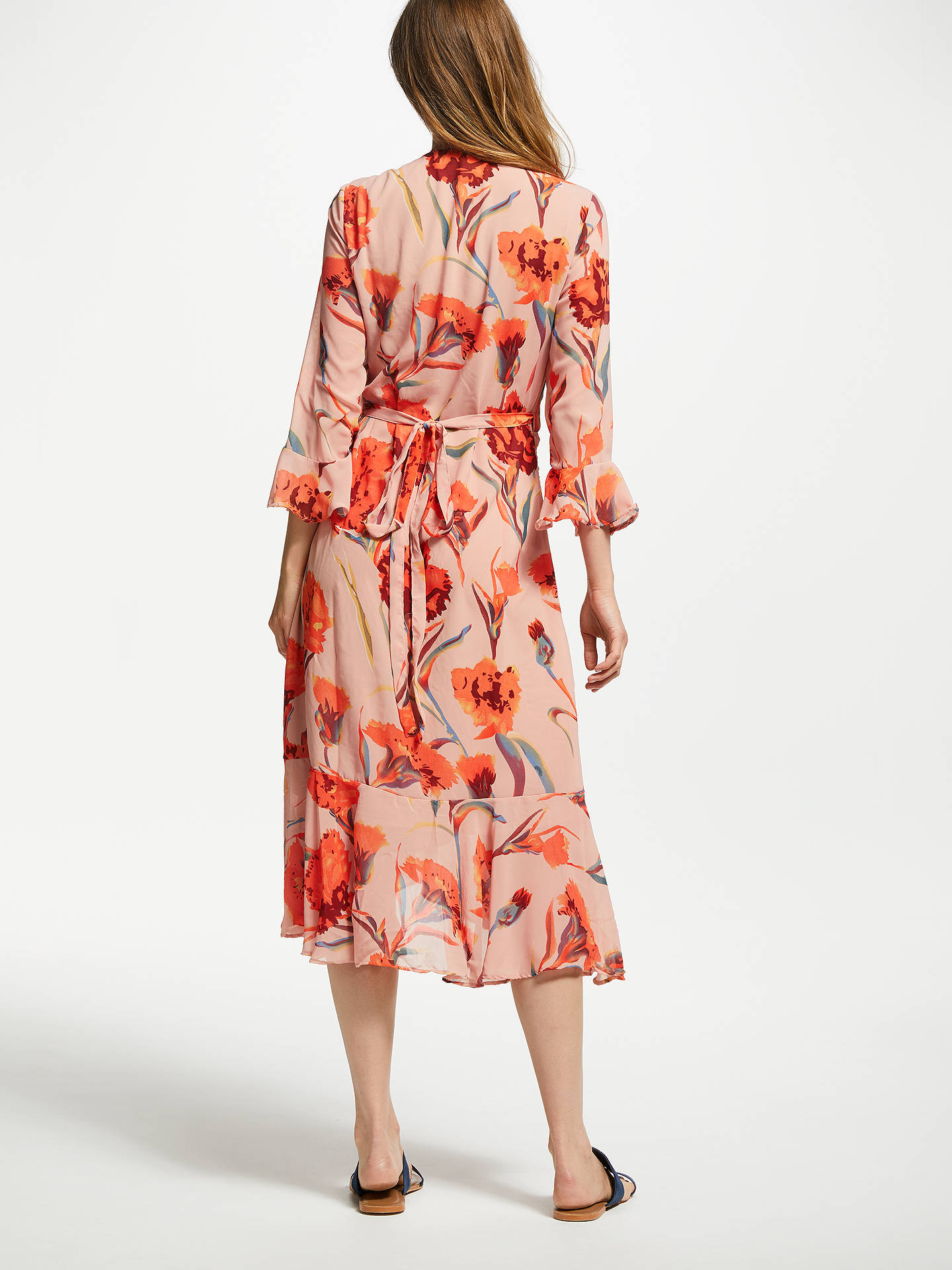 6cd2a63334 ... Buy Y.A.S Cacco Floral Print Wrap Dress, Multi, M Online at  johnlewis.com ...
