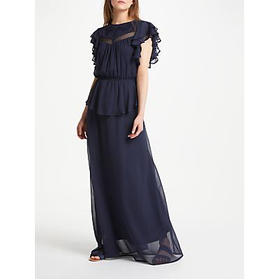 Y.A.S Hista Maxi Dress, Navy