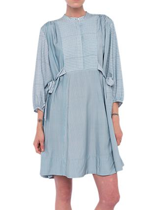 French Connection Malolo Dress, Dream Blue/Multi