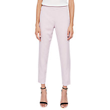 Buy Ted Baker Dornat Slim Suit Trousers, Dusky Pink Online at johnlewis.com