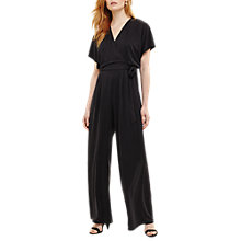 Buy Phase Eight Cameron Jumpsuit, Charcoal Online at johnlewis.com
