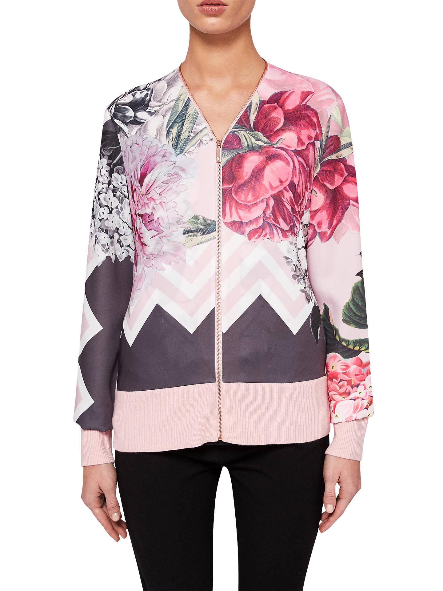 b6ae1bc7ccd5 Buy Ted Baker Palace Gardens Zipped Cardigan