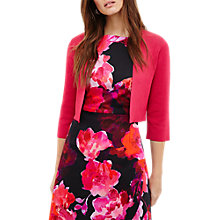 Buy Phase Eight Salma Jacket, Fuschia Online at johnlewis.com