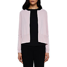 Buy Ted Baker Jacsum Pleated Back Cardigan Online at johnlewis.com