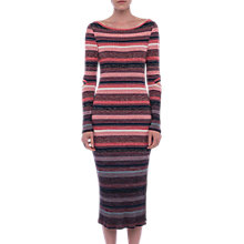 Buy French Connection Bintin Maxi Dress, Red/Multi Online at johnlewis.com