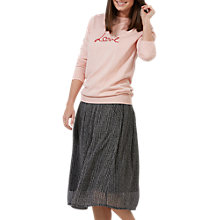 Buy Sugarhill Boutique Rita Love Jumper, Pink Online at johnlewis.com