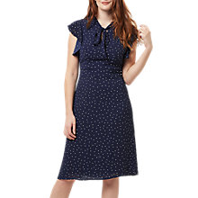 Buy Sugarhill Boutique Polka Dot Dress, Navy Online at johnlewis.com
