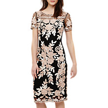 Buy Phase Eight Sienna Tapework Dress, White/Ivory Online at johnlewis.com