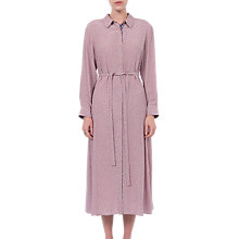 Buy French Connection Elao Drape Shirt Dress, Teagown Online at johnlewis.com