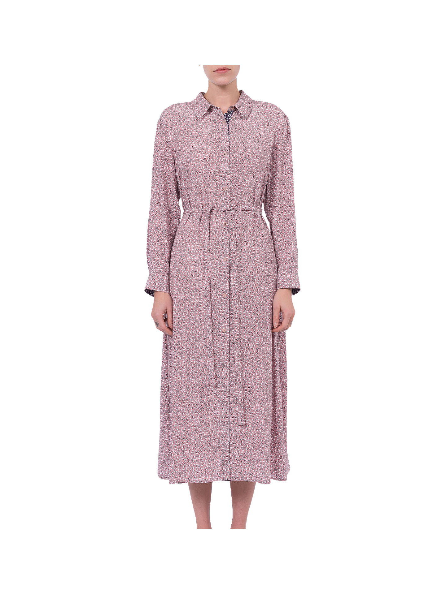 fea51fdf47 Buy French Connection Elao Drape Shirt Dress, Teagown, 6 Online at  johnlewis.com ...