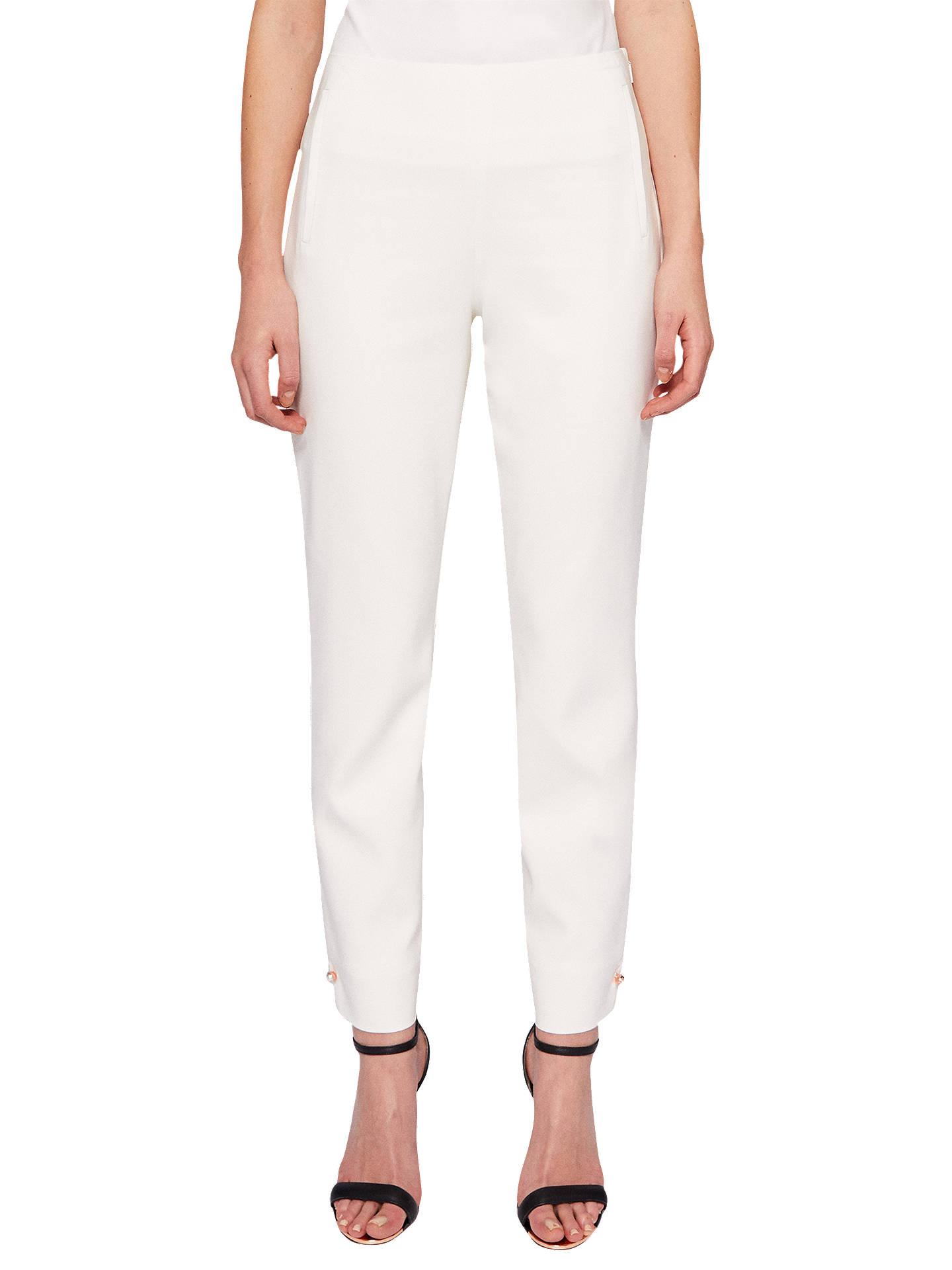 671b5e6f7 Buy Ted Baker Lalyat Pearl Detail Skinny Trousers