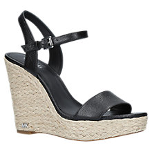 Buy MICHAEL Michael Kors Jill Wedge Heel Sandals Online at johnlewis.com