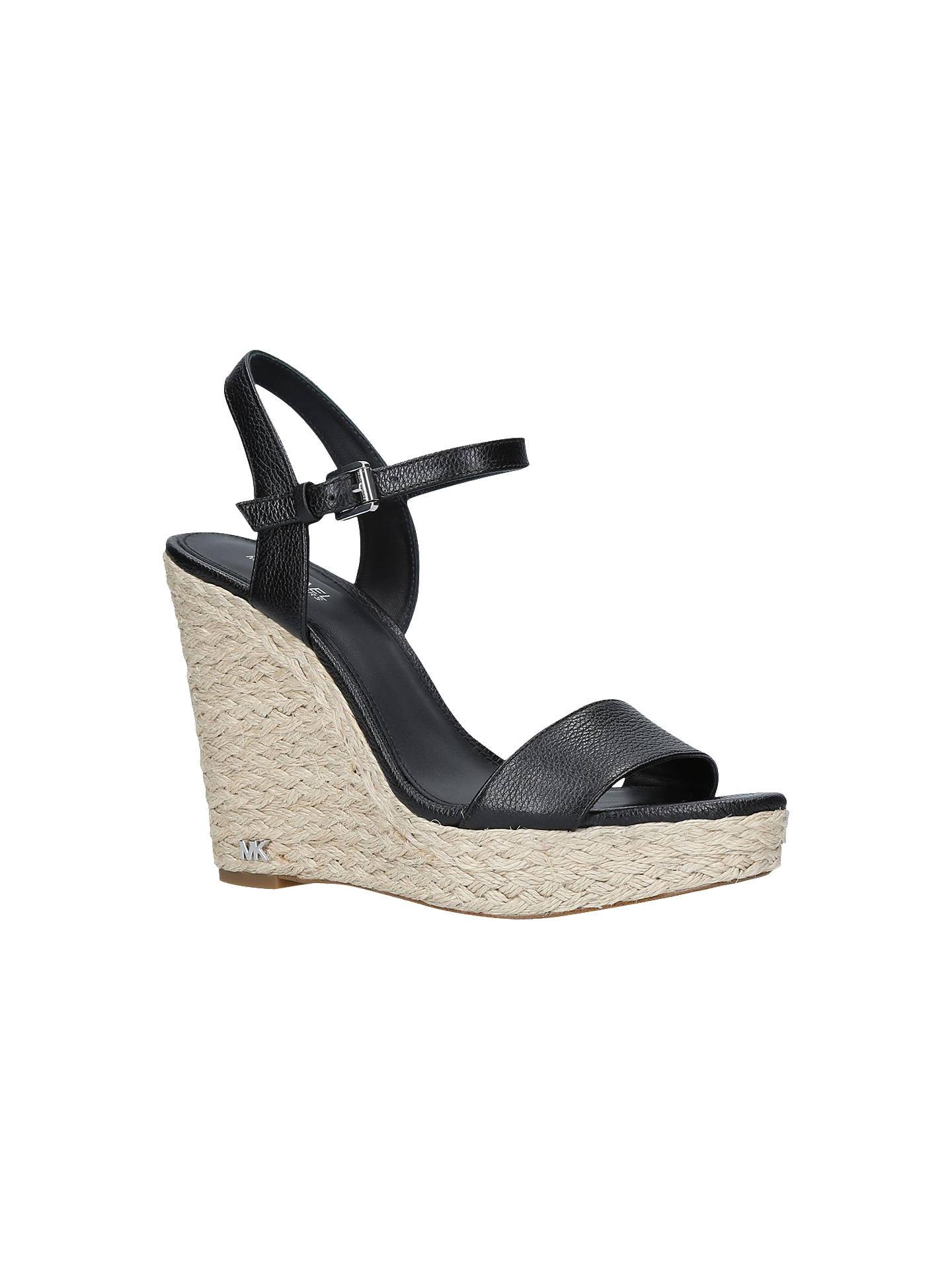 f9c1f55b387 MICHAEL Michael Kors Jill Wedge Heel Sandals at John Lewis & Partners