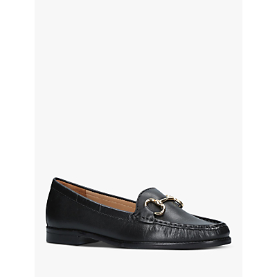 Carvela Comfort Click Leather Loafers, Black
