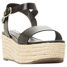 Buy Steve Madden Busy Flatform Sandals Online at johnlewis.com