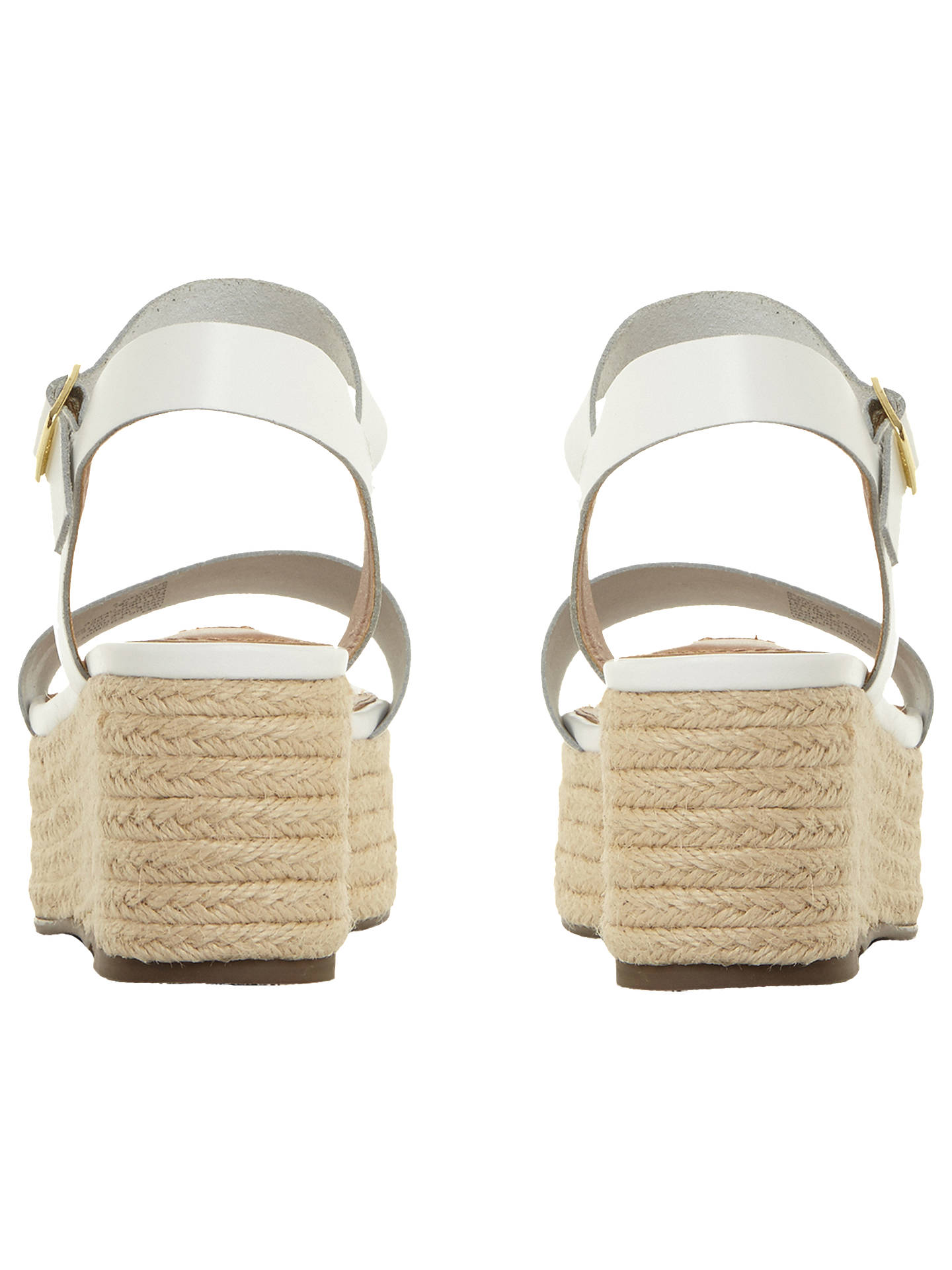 a6ac3f99d09 Steve Madden Busy Flatform Sandals, White Leather