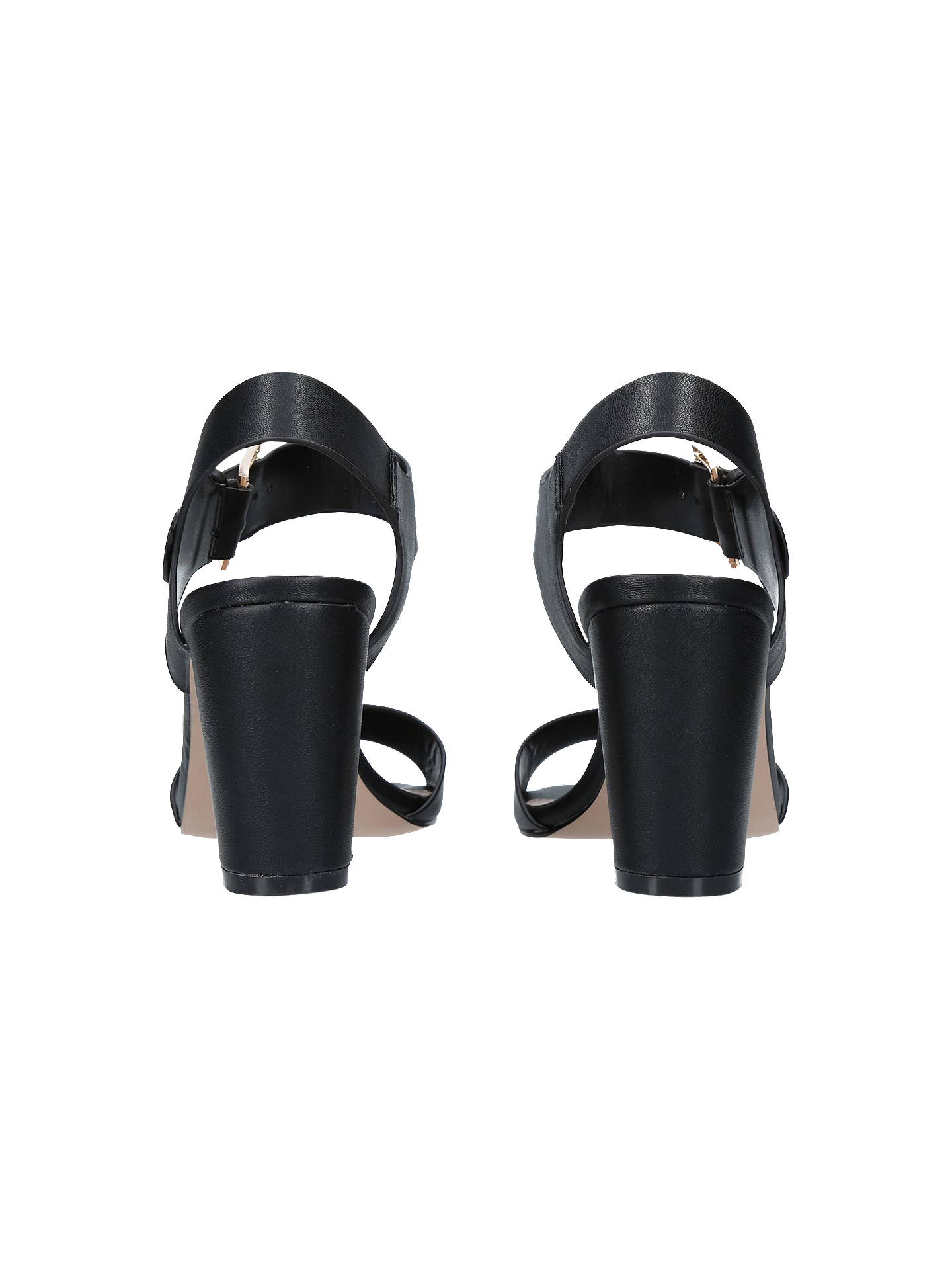 BuyCarvela Sadie Block Heel Sandals, Black, 3 Online at johnlewis.com