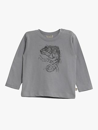 Wheat Baby Chameleon Long Sleeve T-Shirt, Dove