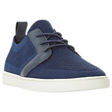 Buy Dune Terminal Textured Fabric Trainers Online at johnlewis.com